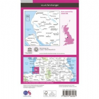 OS Landranger Map - 108 - Liverpool, Southport & Wigan
